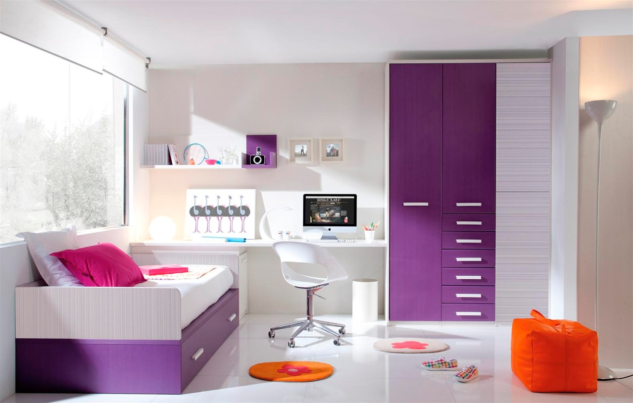 Decorando un dormitorio juvenil for Cielos falsos para dormitorios