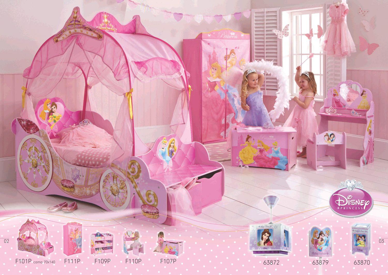 Cuartos de ninas princesas mejores ideas para el dise o - Habitaciones de princesas ...