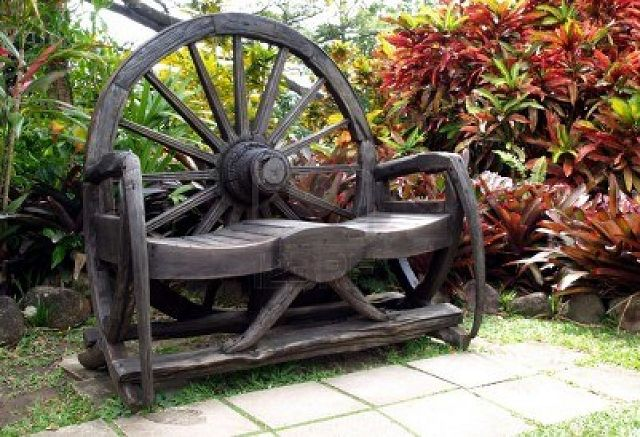 decoracion de jardines rusticos
