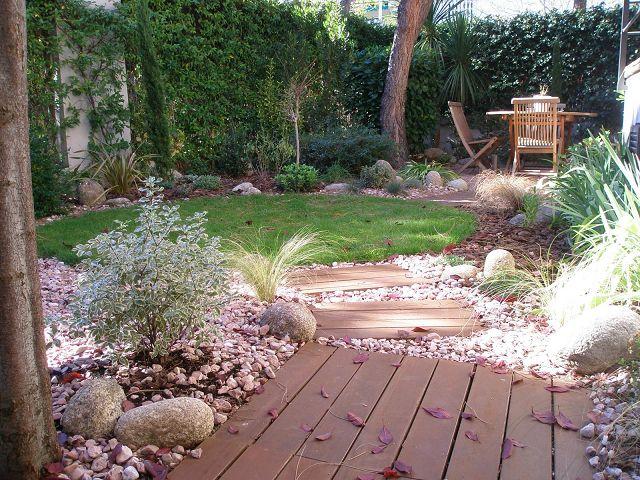 Decoraci n de jardines rusticos - Diseno de jardines rusticos ...