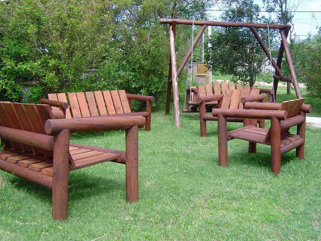 Decoraci n de jardines rusticos for Decoracion jardines exteriores rusticos