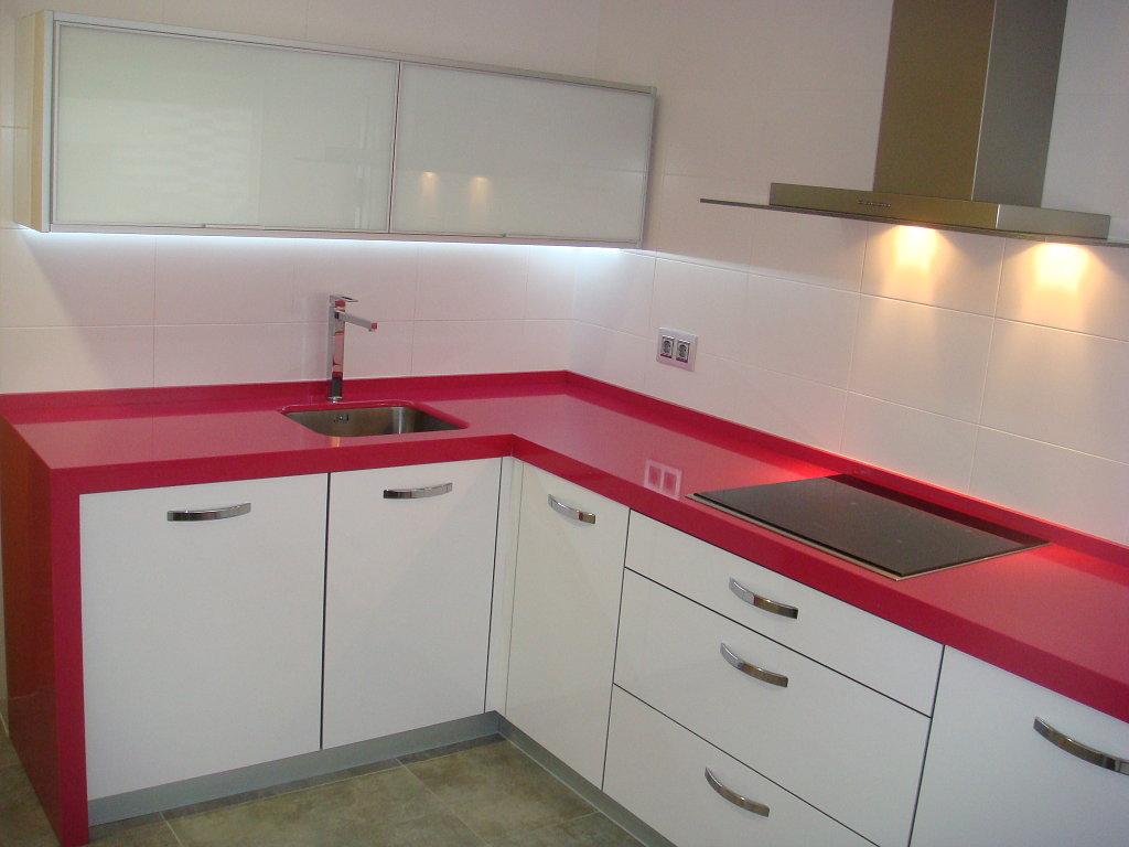 Decoración de cocinas rojas