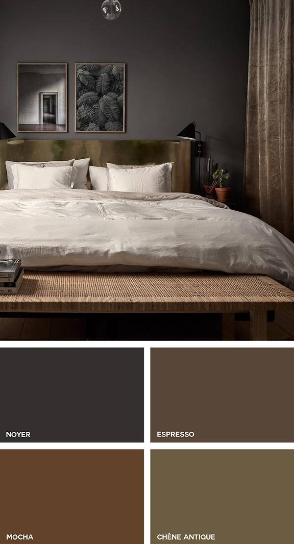 Los tonos de marrón en la decoración