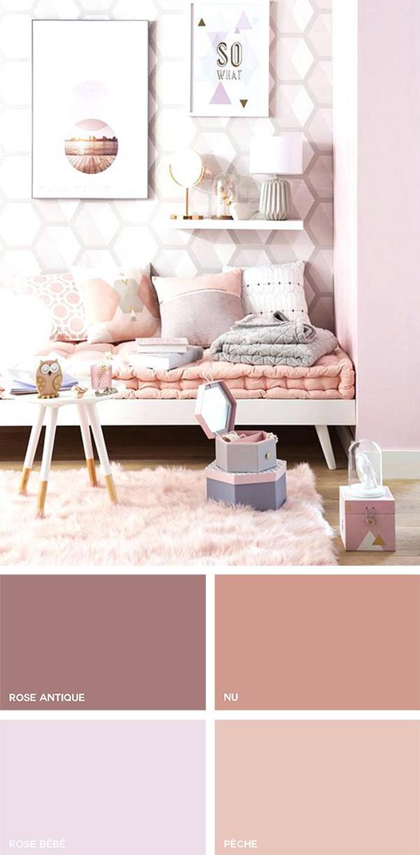 Tonos rosados en la decoración