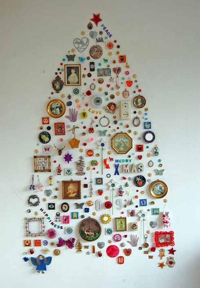 17 Árbol de navidad manualidades