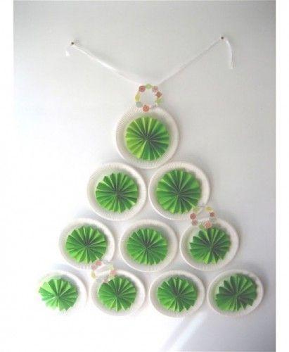 18-arboles de navidad manualidades