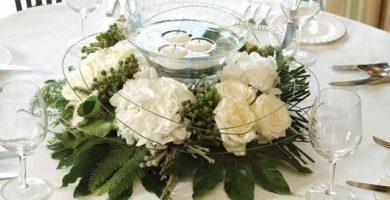 6 adornos para centros de mesa para bodas