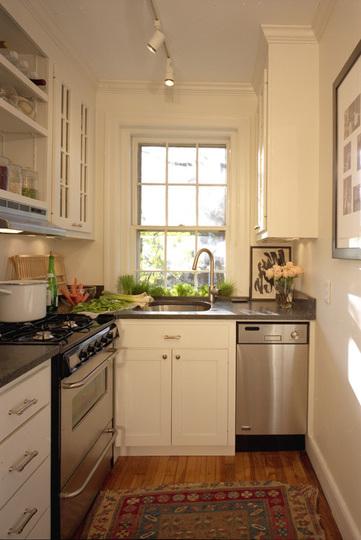 Fotos cocinas modernas peque as for Cocinas en espacios reducidos fotos