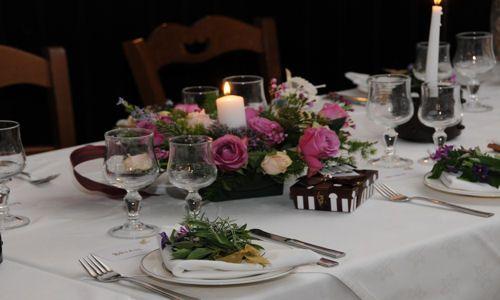 Arreglos florales para centros de mesa