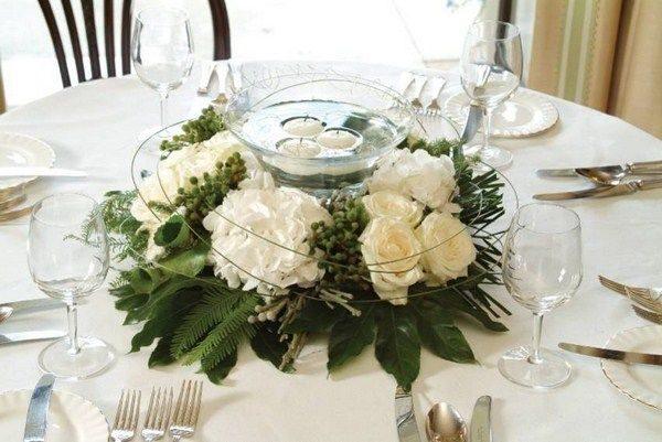 Centros de mesa baratos para bodas