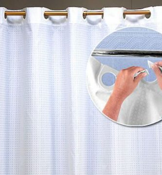Modelos de cortinas de bano