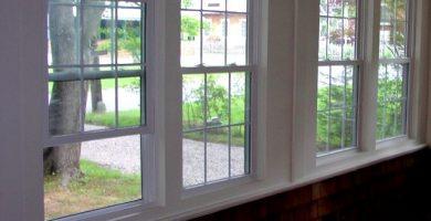 Ventanas de vidrio modernas