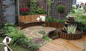 como decorar un jardin pequeño
