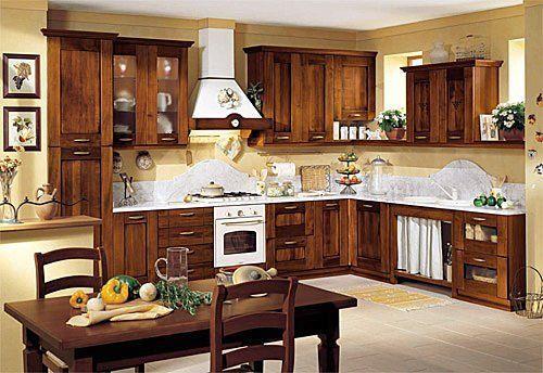 decoracion rustica de cocinas