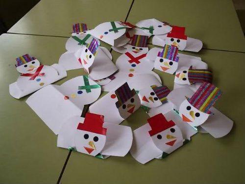 Manualidades Fáciles Navidad Para Niños