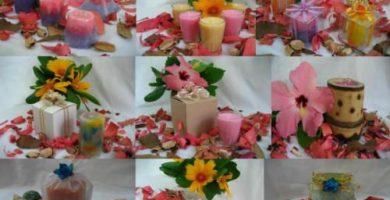 velas y jabones artesanales