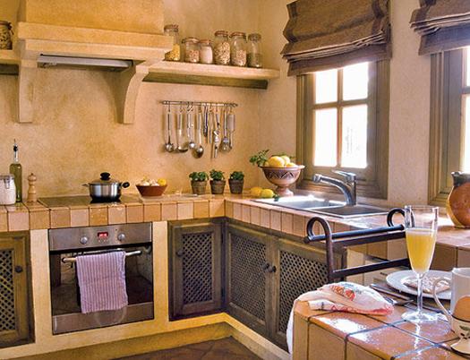 170 Decoracion de cocinas pequeñas rústicas.