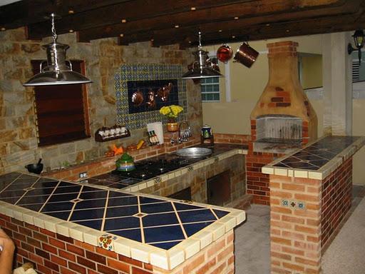 172 Decoración de cocinas rústicas fotos.