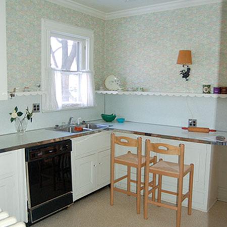 decoraci n de cocinas sencillas. Black Bedroom Furniture Sets. Home Design Ideas