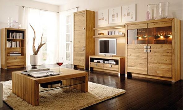 91 Muebles rústicos de madera.