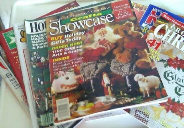 96 Revistas de manualidades de Navidad gratis.