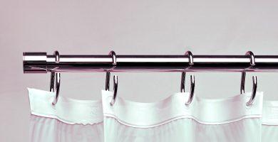 Barras para cortinas de baño
