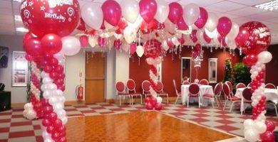 Cómo decorar con globos un cumpleaños