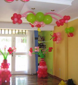 Cómo decorar con globos una fiesta infantil