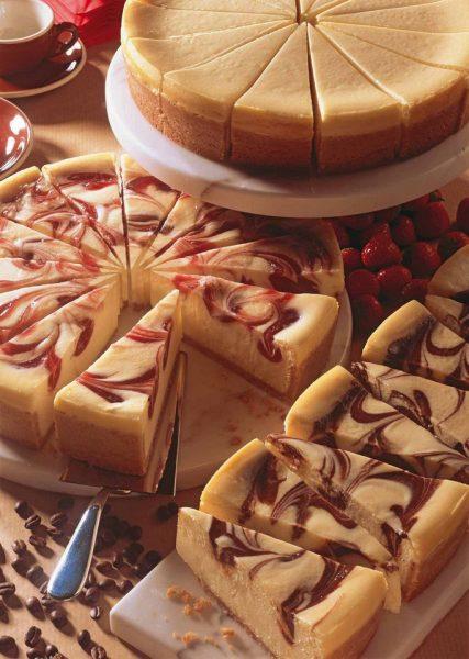 Cake de melocotón y cream cheese