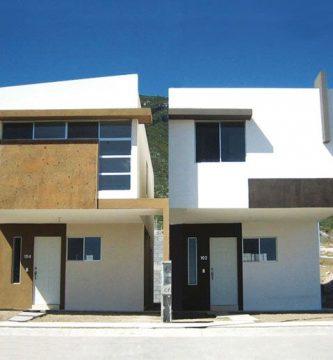 Casas con fachada de cantera