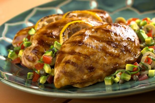 Cena de pollo1