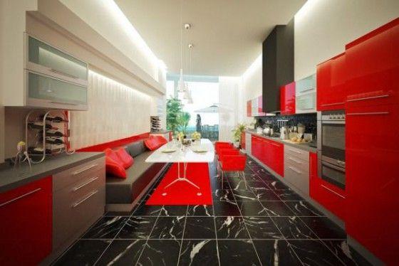 Colores cocinas modernas