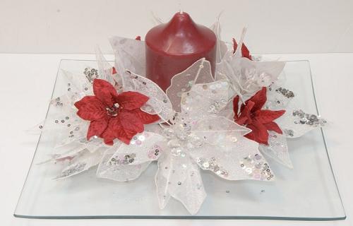 Como hacer centros de mesa para navidad - Como preparar la mesa de navidad ...