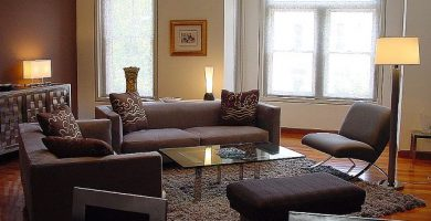 Decoracion minimalista de salas