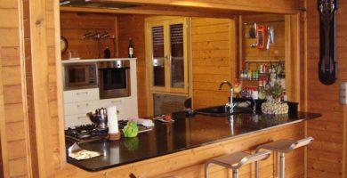 Diseño de cocinas de madera
