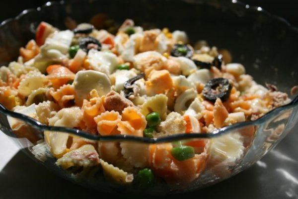 Ensalada fria de pasta1