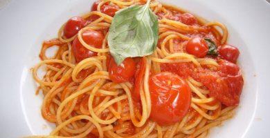 Espaguettis Pomodoro