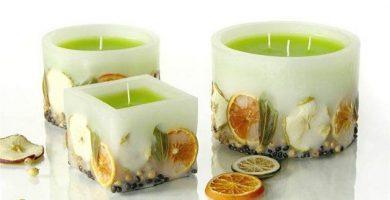 Materiales para velas artesanales