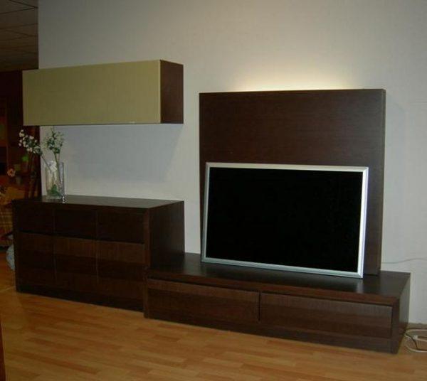 Muebles de roble modernos