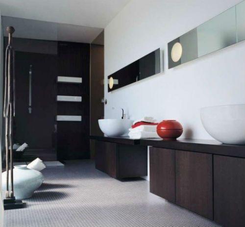 Baños elegantes y modernos