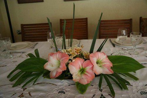 centros de mesa con flores naturales para boda personalizados