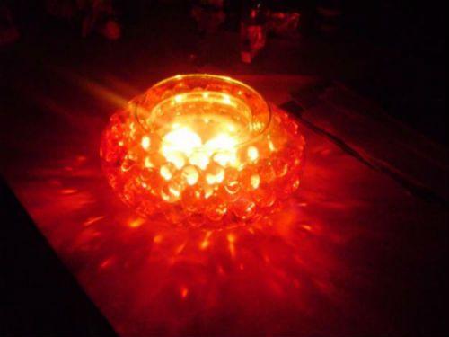 centros de mesa con luz