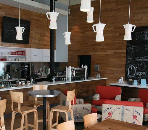 Como decorar una cafetería