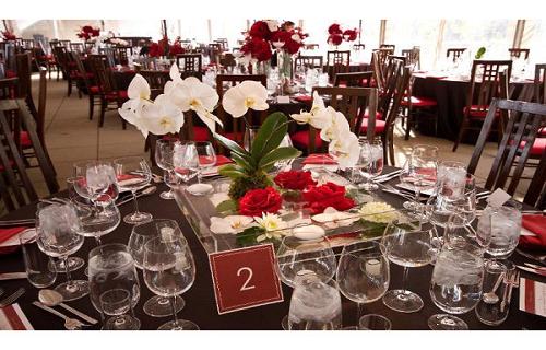 como hacer centros de mesa para bodas