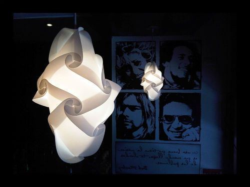 Lámparas decorativas modernas