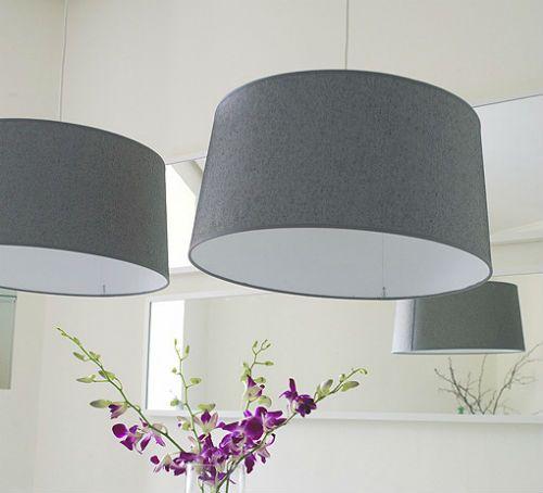 Lámparas modernas comedor