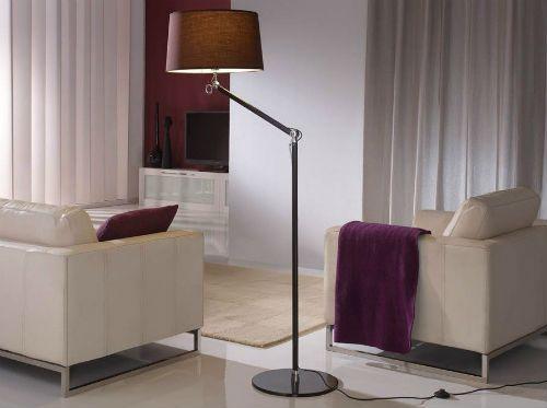 Lámparas modernas pie