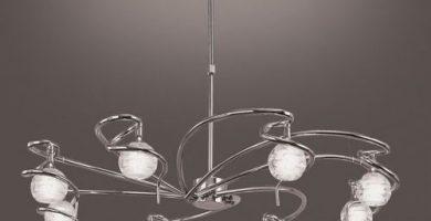 lamparas salon modernas