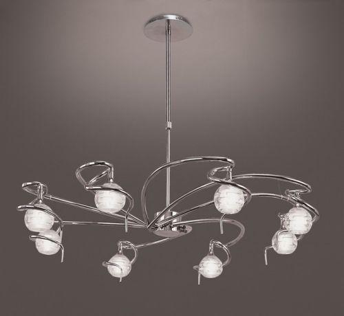 Lámparas salón modernas