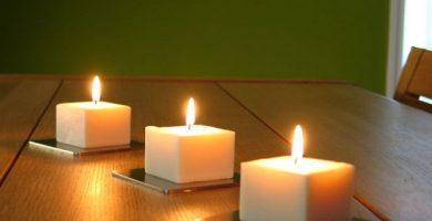 material para velas aromaticas
